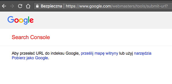 submit url screenshot
