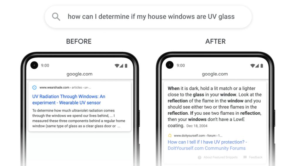 google fragmenty treści